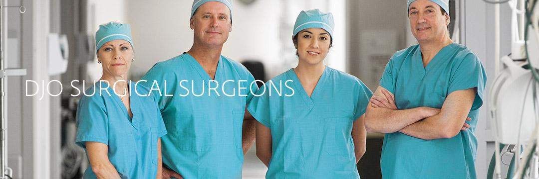 DJO Surgical Surgeons