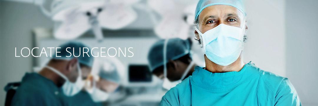 Locate Surgeons