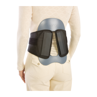 Procare CyberSpine Premium Plus LSO - On Back 3/4 View
