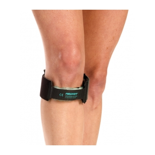 Aircast Infrapatellar Band - On Knee