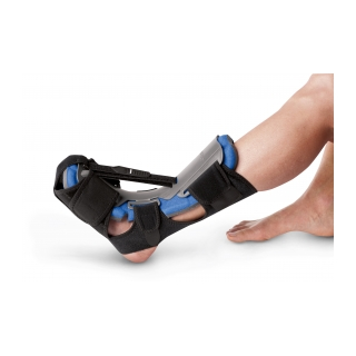 Aircast Dorsal Night Splint - On Leg