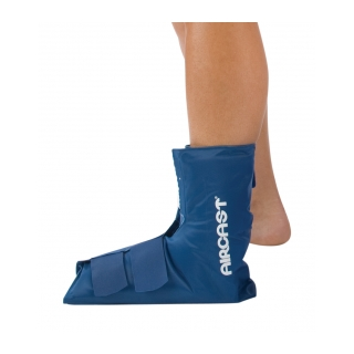 Aircast Ankle Cryo/Cuff - On Ankle