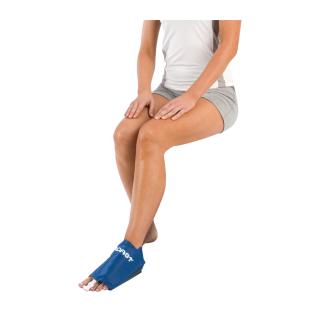 Aircast Foot Cryo/Cuff - On Foot