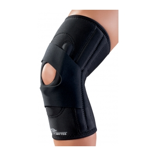 DonJoy Hinged Lateral J - On Knee