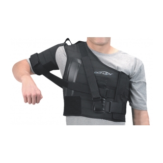 DonJoy Shoulder Stabilizer - On Shoulder