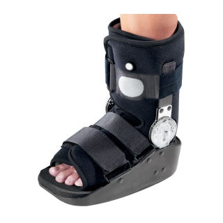 DonJoy MaxTrax Air ROM Ankle - On Ankle 3/4 View