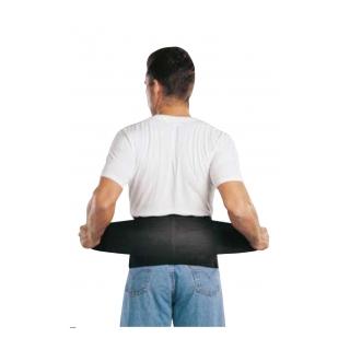 Saunders Work S'port Back Support - On Back
