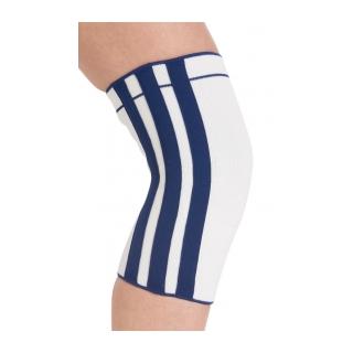 Procare Elastic Spiral Knee Support - On Knee