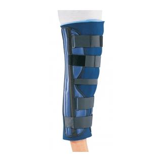 Procare Clinic 3-Panel Knee Splint - On Leg