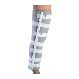 Procare Universal Foam Knee Splint - On Leg