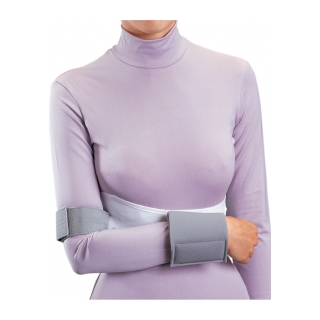 Procare Elastic Shoulder Immobilizer - On Person