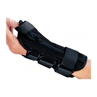 Procare ComfortFORM Wrist with Abducted Thumb - On Wrist