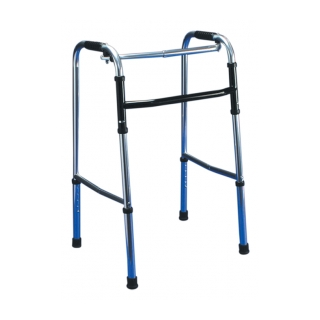 Procare Anodized Aluminum Adjustable Fold-Up Walker