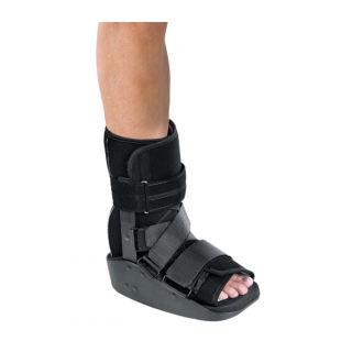 Procare MaxTrax Ankle Walker - On Ankle