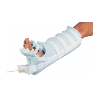 Procare Universal Bucks Traction with Foot Pad - In Use