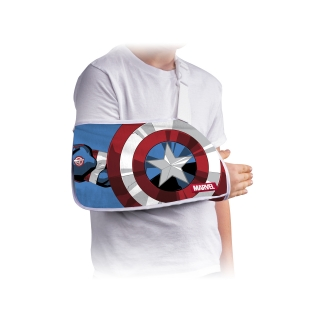 DonJoy® Advantage Youth Arm Sling Featuring Marvel - Capt America