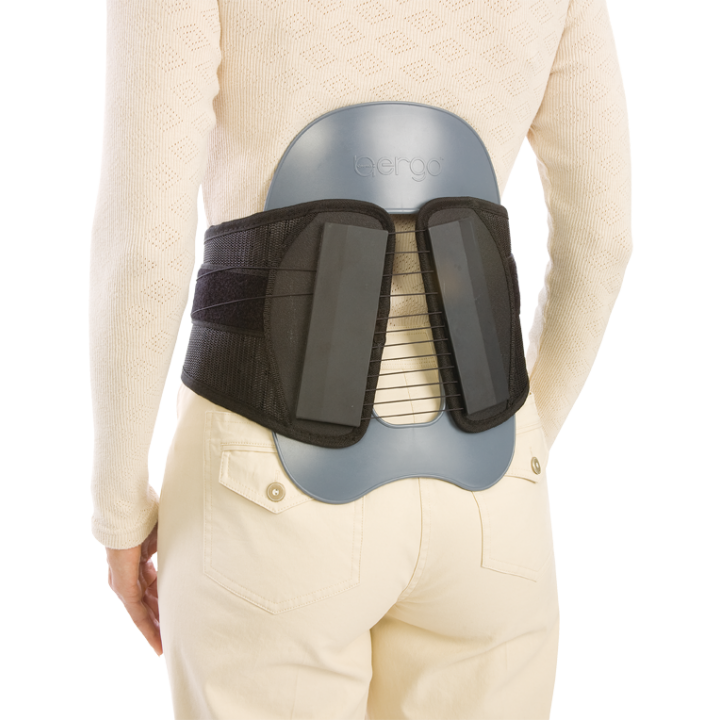 Procare CyberSpine Premium Plus LO - On Back 3/4 View