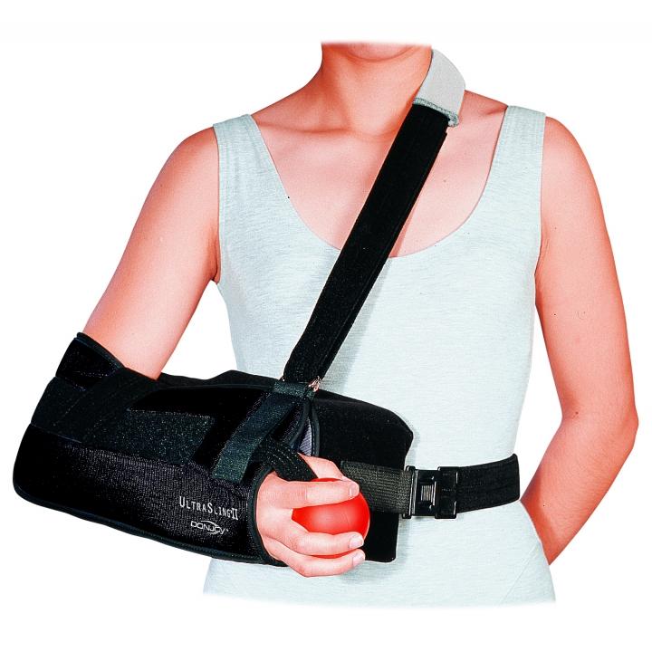 DonJoy UltraSling II - On Arm