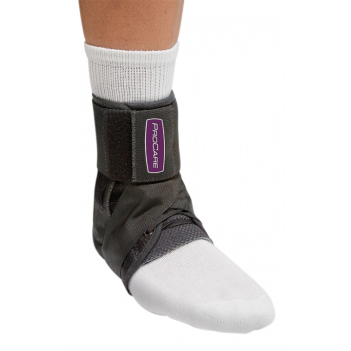 Procare Stabilized Ankle Support - On Ankle