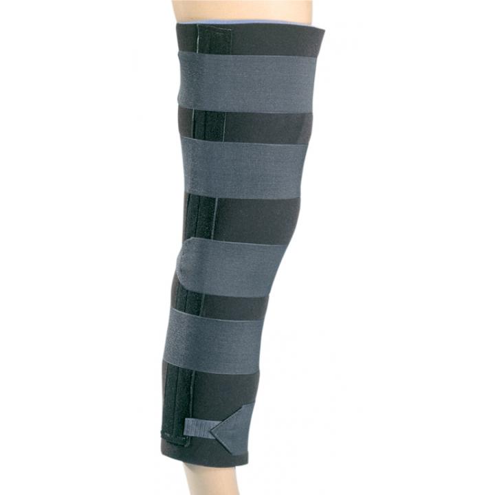 Procare Quick-Fit Basic Knee Splint - On Leg