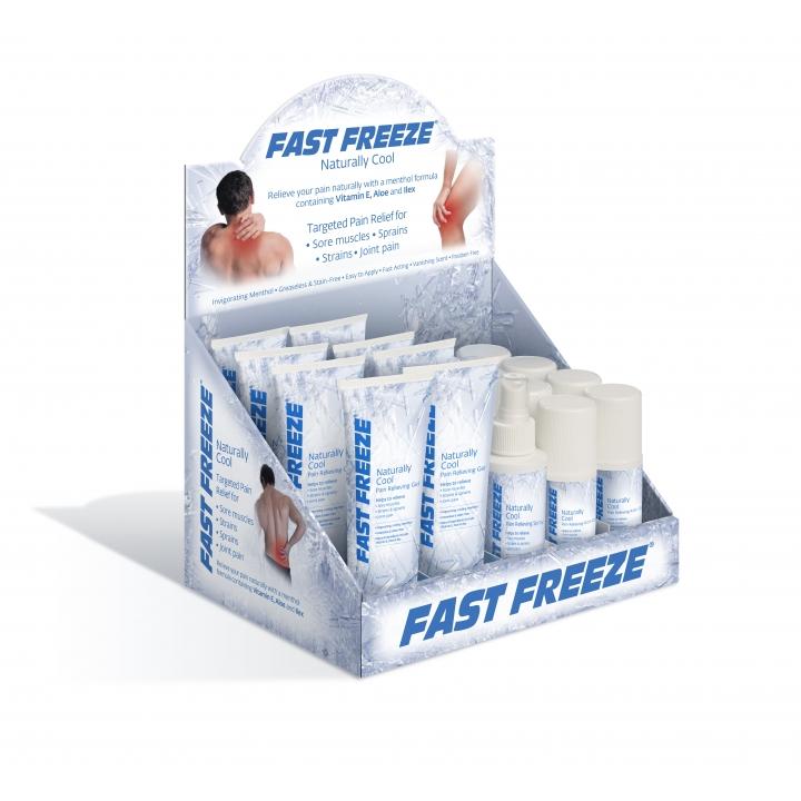Fast Freeze Professional Countertop Display