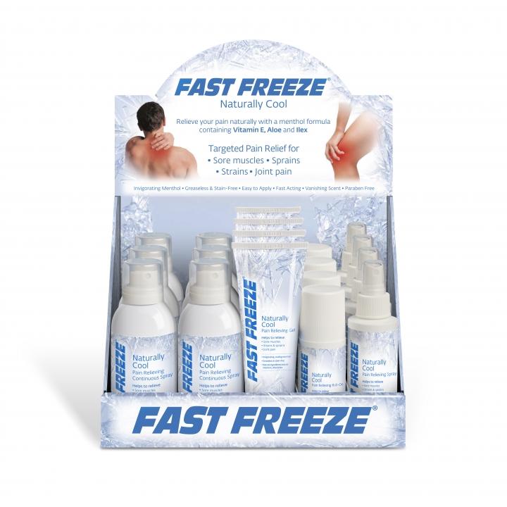 Fast Freeze Retail Countertop Display