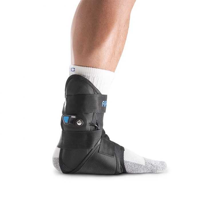 Aircast AirLift PTTD Brace - Side View - On Ankle