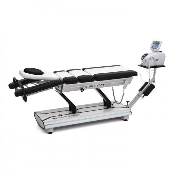 Triton 6E Traction Table Electronic - White/Black