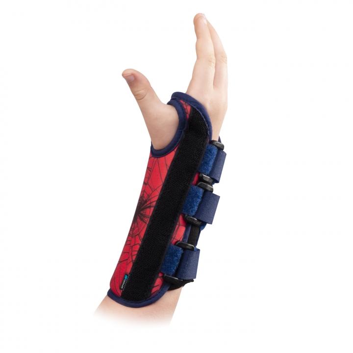 DonJoy® Advantage Comfort Wrist Brace Featuring Marvel - Spiderman