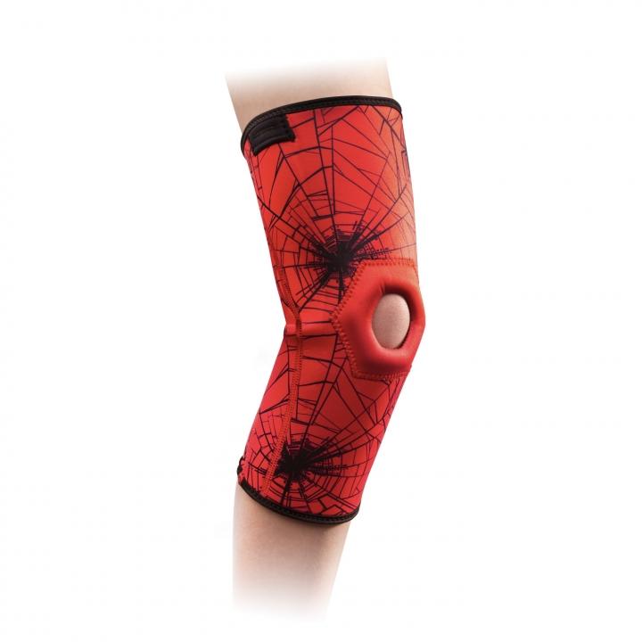 DonJoy® Advantage Kid's Patella Knee Sleeve Featuring Marvel - Spiderman