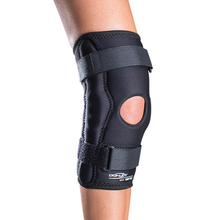 Economy Hinged Knee - On Leg