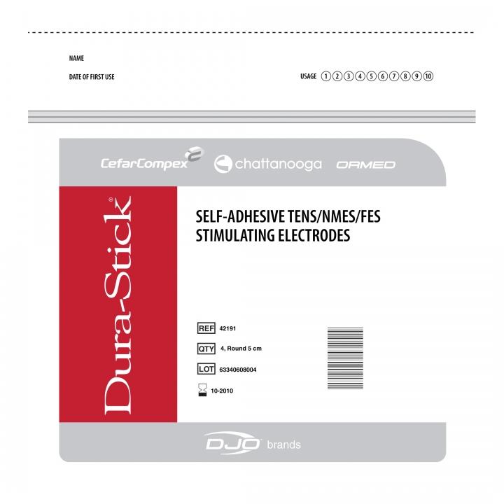 Dura-Stick® Premium Self-Adhesive Electrodes