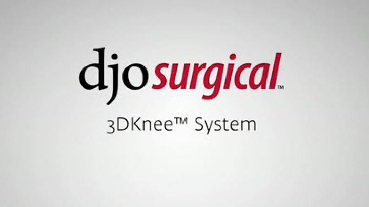 3DKnee System | DJO Global
