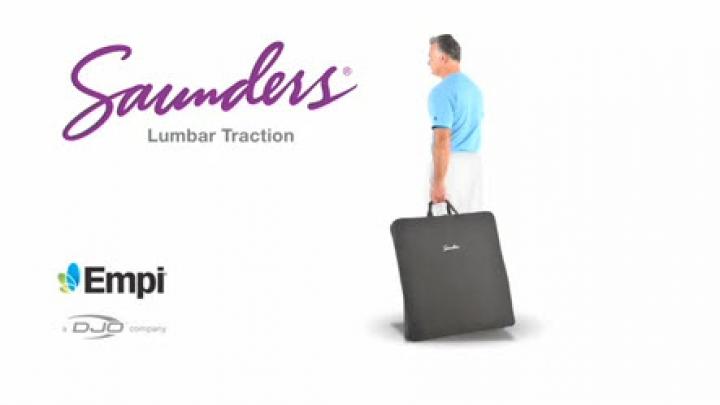 Saunders Lumbar Home Traction Device Djo Global