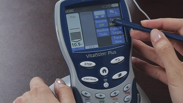 VitalStim Plus Electrotherapy and sEMG Biofeedback System