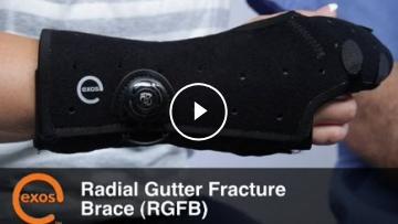 Radial Gutter Fracture Brace Djo Global