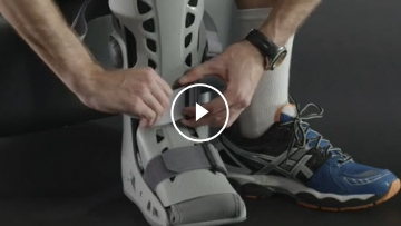 What is an aircast boot?